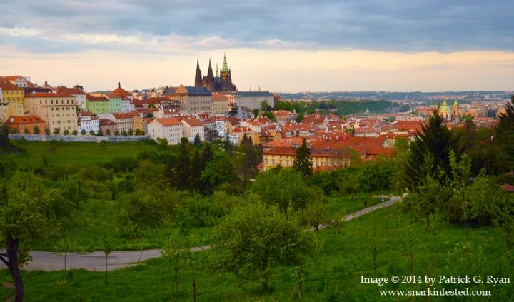 Prague at Dusk *75